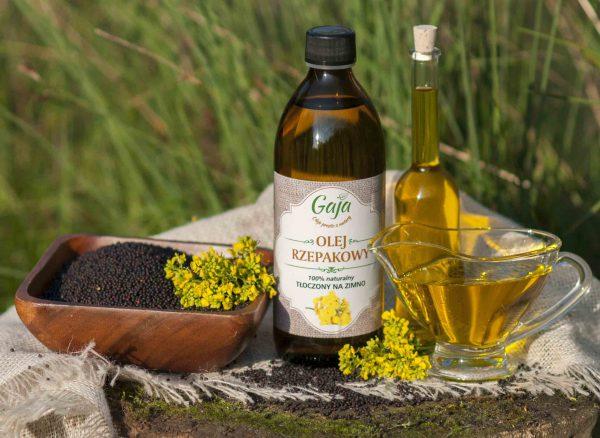 Olej rzepakowy GAJA