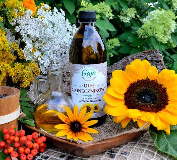 Olej słonecznikowy GAJA